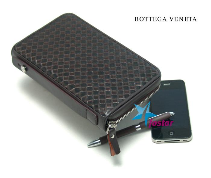 Барсетка клатч мужская Bottega Veneta P320-LG012-2BR