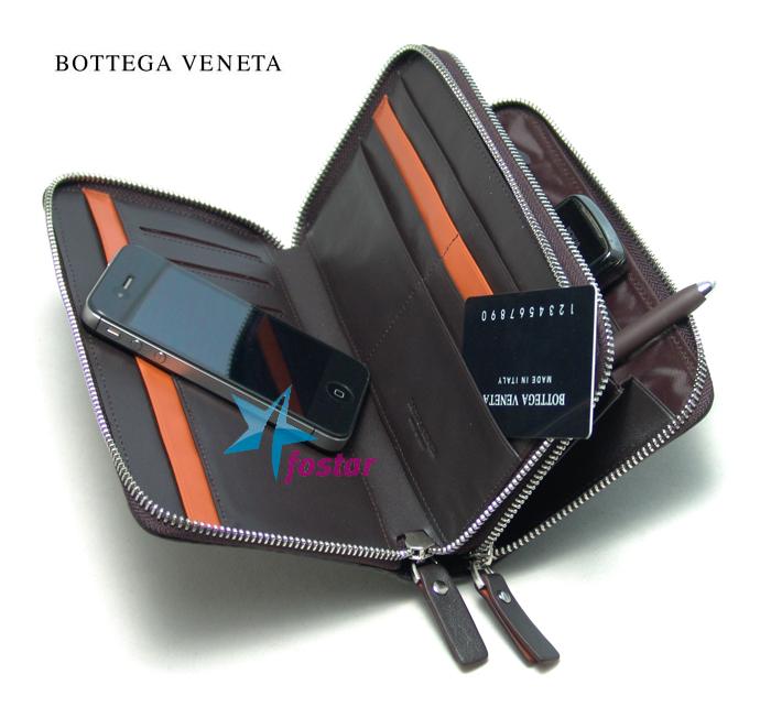 Стильный мужской клатч-барсетка Bottega Veneta P320B-LG012-1BR