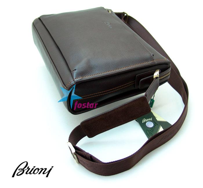 Сумка для документов через плечо Brioni 820-4BR