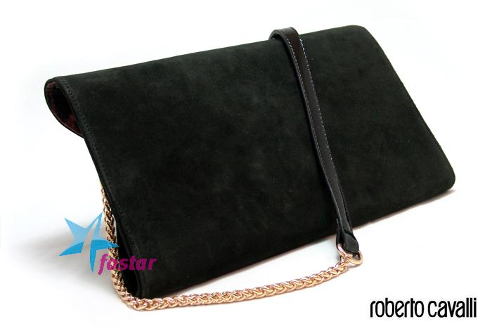 Женская черная сумка Roberto Cavalli RC5284BK