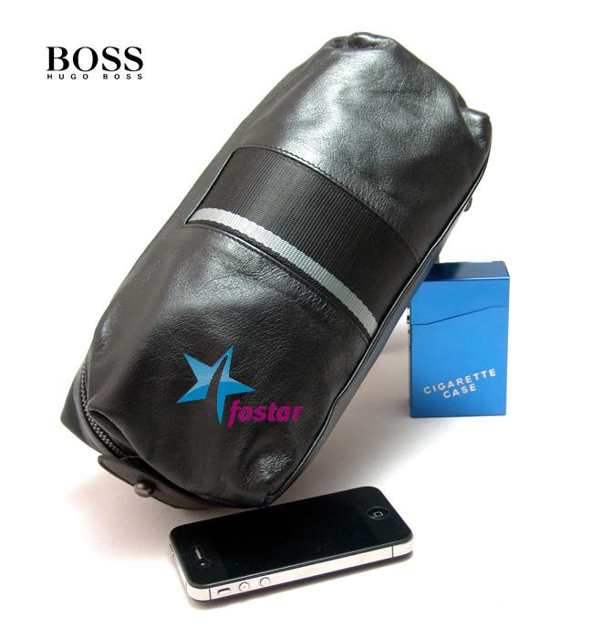Мужская барсетка в спортивном стиле Hugo Boss D9621BK