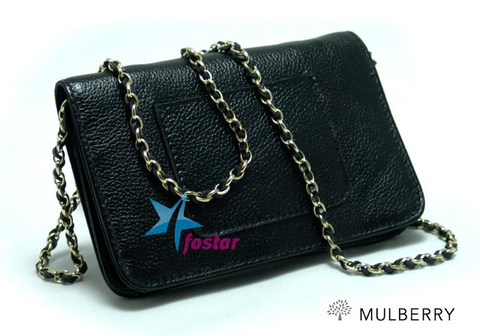 Маленькая женская сумка Mulberry M9120BK