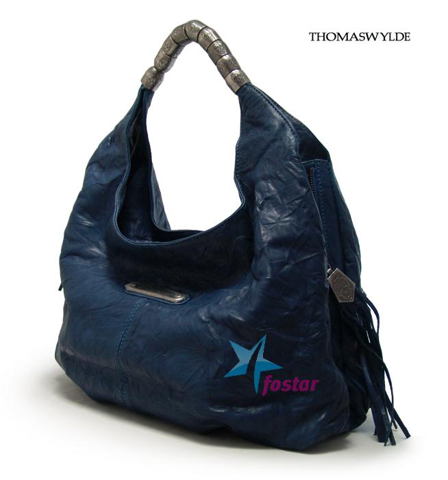 Большая женская сумка THOMAS WYLDE TW0157BLUE