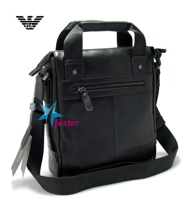 Черная сумка для документов Giorgio Armani 44905BK