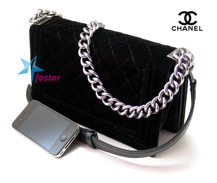 Женская черная сумка Сhanel CH4743BK
