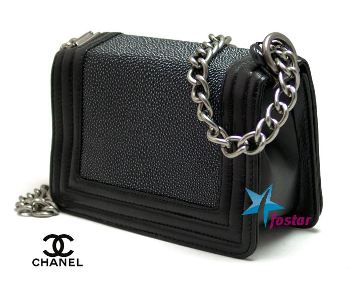 Модная женская сумка Сhanel CH67063BK