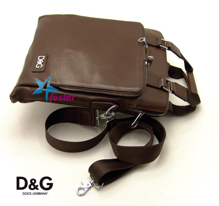 Мужской портфель Dolce&Gabbana 313-1BR