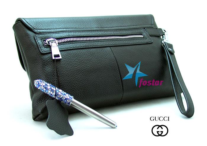Большая мужская барсетка Gucci 67059-2BK