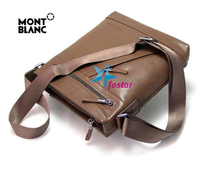 Кожаная сумка через плечо Mont Blanc MB66103-4BR