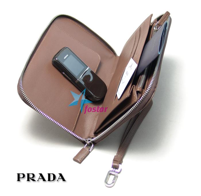 Стильный клатч-барсетка для мужчин Prada PA162-12B