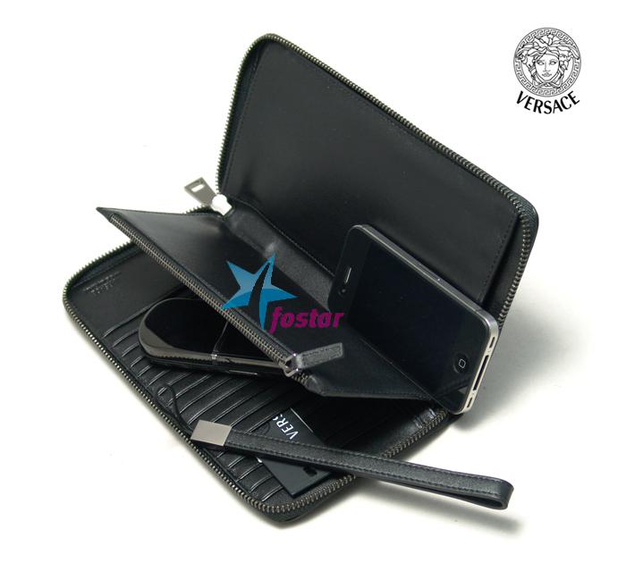 Стильный мужской клатч Versace VE262-12A